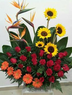 Arreglos florales tradicionales