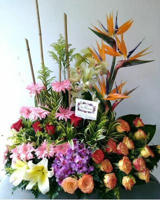 Arreglos Florales Tradicionales Cali La Florería